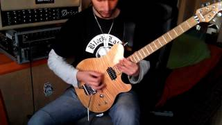 Lamb Of God - The Faded Line (Guitar Cover)  Mesa Studio Preamp