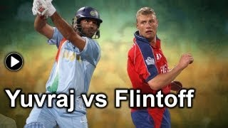 Yuvraj Singh vs Andrew Flintoff: What led to the six sixes in Stuart Broad