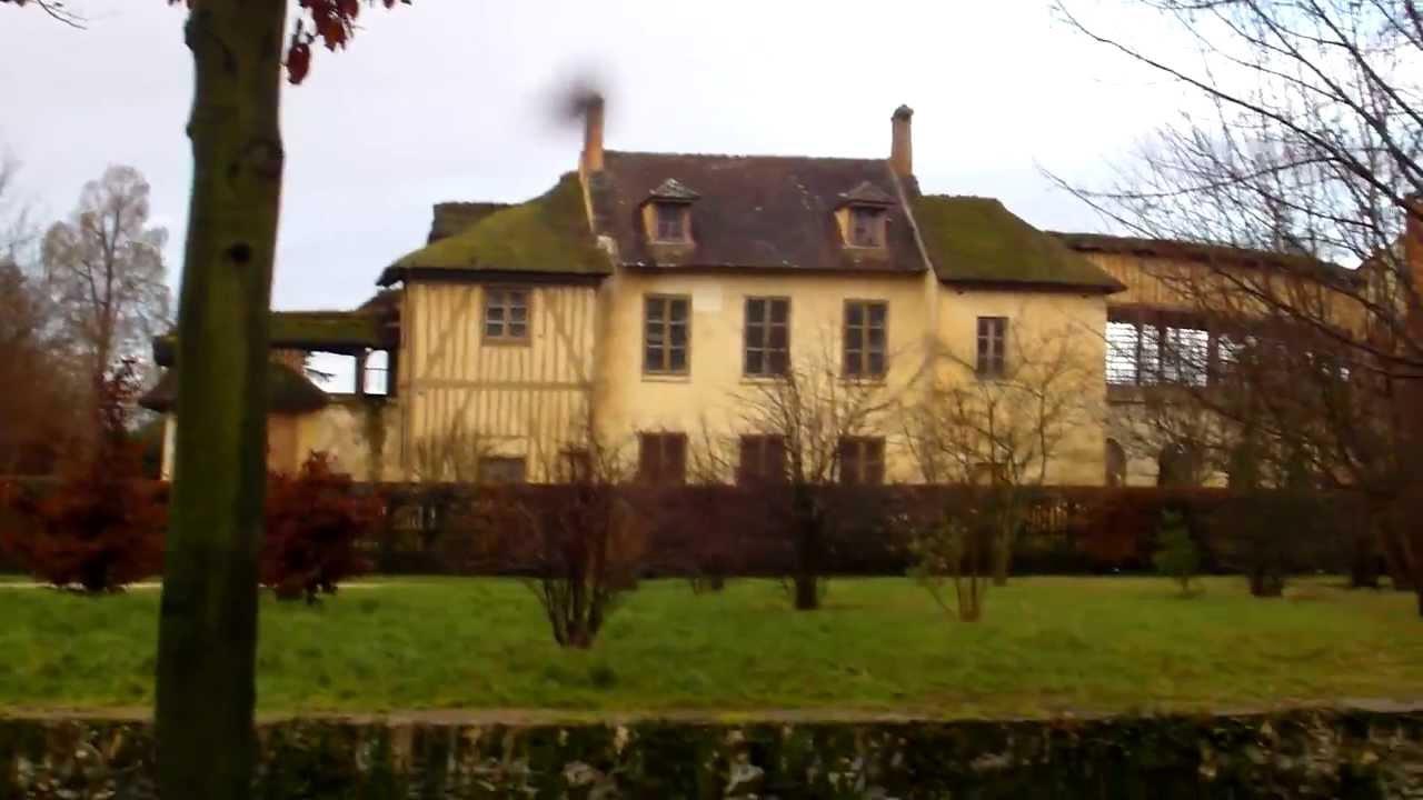 De Buitenverblijven Van Marie Antoinette In De Tuinen Van Versailles