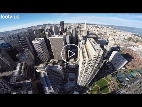 "Embarcadero ""Rockefeller"" Center, San Francisco (GoPro Hero4 on DJI Phantom 2) (length: 2:12)"