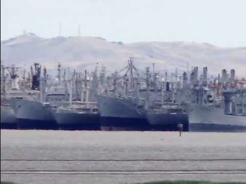 The Suisun Bay Reserve Fleet SBRF