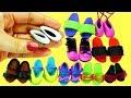 10 DIY Barbie Bebekler Için Ayakkabı Nasıl Yapılır Kendin Yap 10 Farklı Model mp3