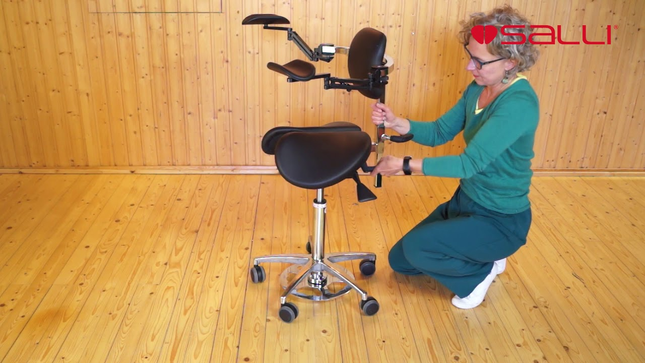 Salli Chair Salli How To Adjust And Use Ergorest