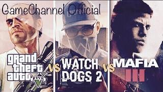 Watch Dogs 2 vs GTA 5 vs Mafia 3
