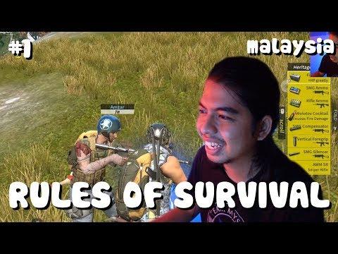 cepat cari barang ! | Rules of survival #1 | Malaysia