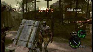 "Resident Evil 5 ""The Mercenaries Reunion"" Village DUO (Heavy Metal Chris/Rebecca) - 1,002K"