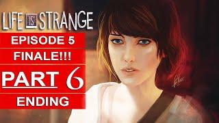 Life Is Strange Episode 5 ENDING Gameplay Walkthrough Part 6 [1080p HD PS4] SEASON FINALE