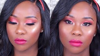 HOLIDAY GLAM MAKEUP TUTORIAL I TOPSYCOLE