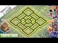 Gambar cover BEST Town Hall 8 TH8 TROPHY Base with REPLAY!! TH8 Base Design/Defense - Clash of Clans
