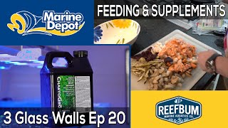 Food and Supplements: 3 Glass Walls with Reefbum Part 20