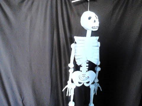 esqueleto de papel y carton    peticion