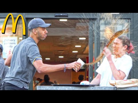 Fake Employee PRANK At McDonalds