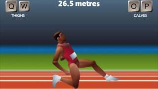 QWOP AI Runs 100m
