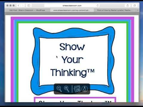 Wordpress Tutorial for Shea's Classroom