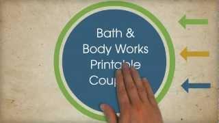 Bath And Body Works Printable Coupons