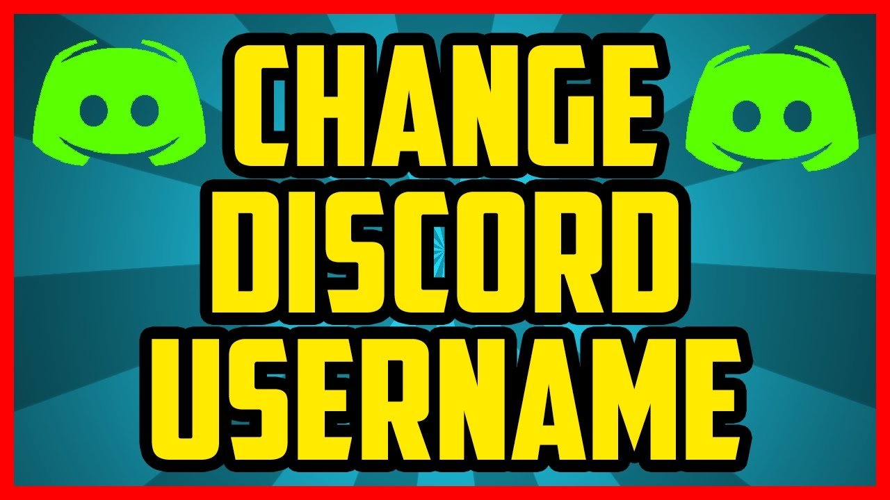 How To Change Your Username In Discord 2017 (QUICK & EASY) - How To Change  Your Name Discord