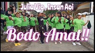 Julia Vio, Insan Aoi Bodo Amat | Choreo by Rini Trini