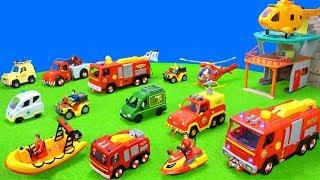 Feuerwehrmann Sam Spielzeug Feuerwehrautos für Kinder mit der Feuerwehr aus Pontypandy