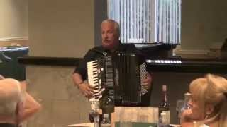 Aquanique Spring Fling - Dan on accordian 2015 03 22