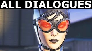 Batman & Catwoman On The GCPD Rooftop - All Dialogues - BATMAN Season 2 The Enemy Within Episode 3