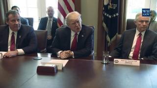 President Trump Hosts an Opioid and Drug Abuse Listening Session