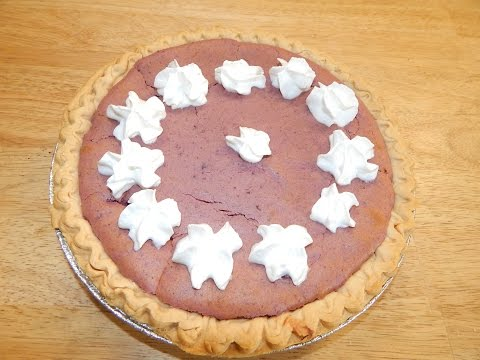 Sweet Potato Pie Recipe – How To Make Homemade – Sweet Potato Recipes