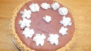 Sweet Potato Pie Recipe - How To Make Homemade - Sweet Potato Recipes