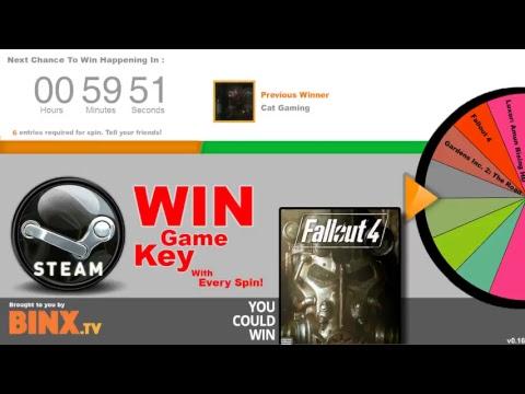 Spin2Win - Win Free Steam Keys - CrowdPlay