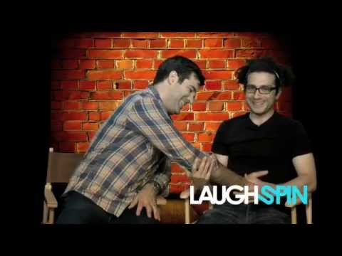 Comedian Rob Delaney interview with Laughspin