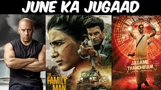Upcoming Web Series And Movies Of June 2021 The Family Man Season 2, Amazon Prime,Alt Balaji,Netflix Thumb