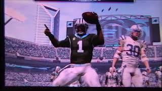 Madden 17 Indianapolis Colts vs Carolina Panthers