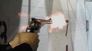 実銃「ルガースーパーレッドホーク」.44マグナム弾リボルバーを体験。ラ...