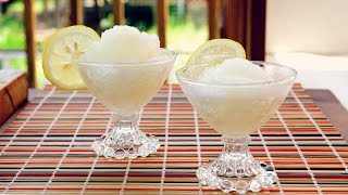 Lemon Granita | Just Eat Life