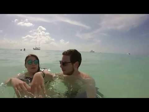 GoPro Hero3+ Isla Mujeres Cancun Mexico 2014 Vacation Clip - Calvin Harris Summer