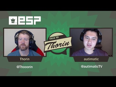 Talk to Thorin: autimatic on Going from Journeyman to Major Champion (CS:GO)
