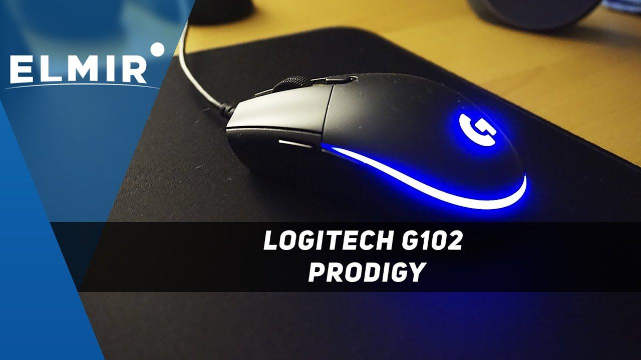 Logitech G102 Prodigy  Лучшая среднебюджетная мышь  Обзор от Elmir ua