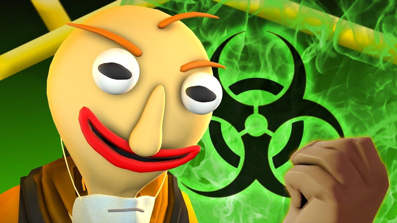 [SFM Baldi's Basics] Baldi's Quarantine