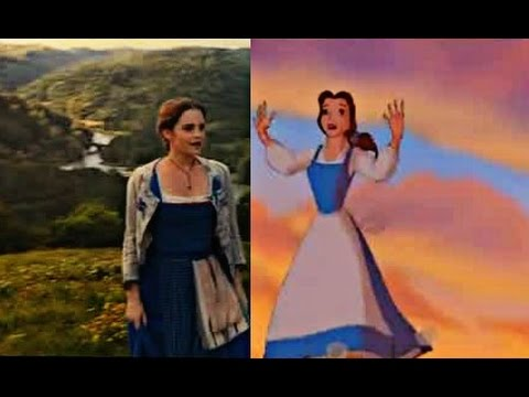 'Beauty and the beast' 1991 vs 2017