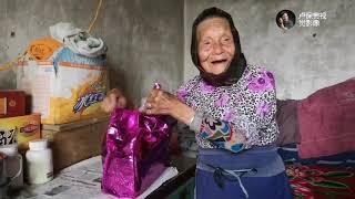 【盧保貴視覺影像】河南山區,94歲的老太太今天可高興了,看看發生了什麼事情?