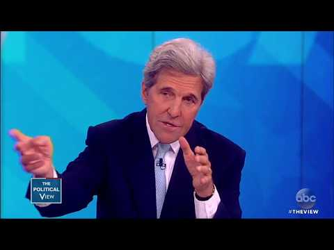 John Kerry On Whether He'll Run In 2020, Trump Backing Out Of Iran Deal | The View
