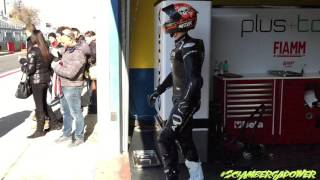 team althea racing bmw test sbk in vallelunga by sciambergapower