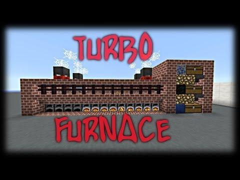 Minecraft Showcase+Tutorial: Industrial Furnace Array