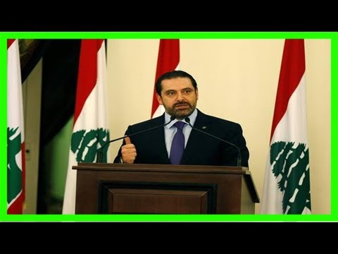 Lebanese pm feared missing in saudi arabia gives interview saying 'i am free' and will return