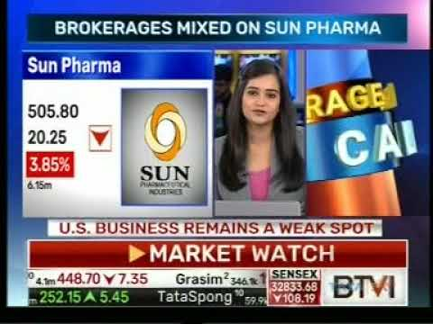 Sun Pharma's bottom line surprised- Mr. Mayuresh Joshi, BTVi, 15th November