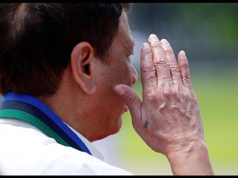 Philippine president Duterte's mystery tattoo