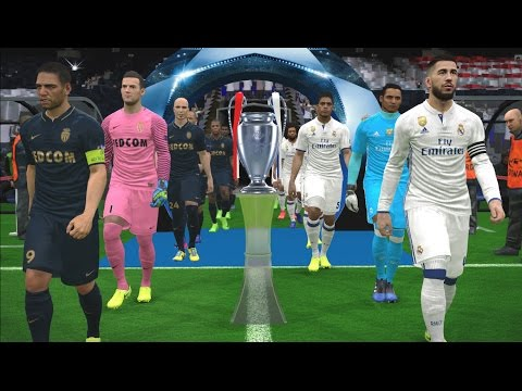 PES 2017 | UEFA Champions League Final | Real Madrid vs AS M