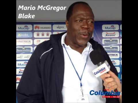 Presentación de La Doble M, Mario McGregor, en Columbia Radio