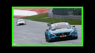 Red Bull Ring DTM: Paffett grabs race two pole to narrow title fight | k production channel