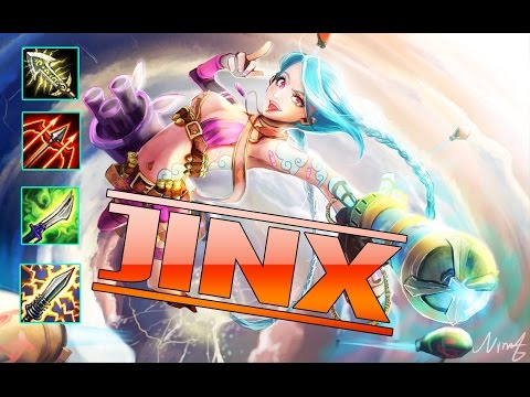 Jinx ADC | Hi im Gosu Stream | Insane Damage | Best ADC | Build And Play | League of Legend