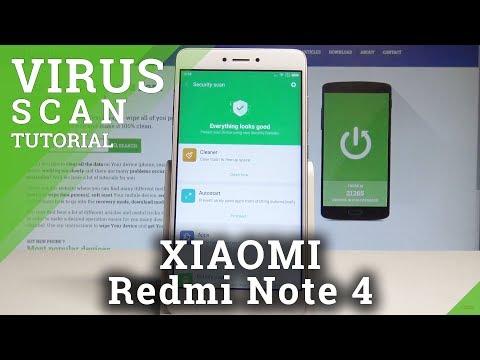 How to Scan Virus on XIAOMI Redmi Note 4 - Antivirus / Security Scan |HardReset.Info